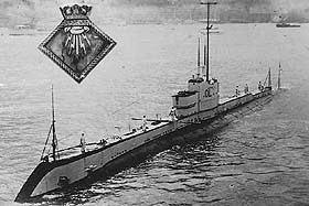 HMS Olympus (N35) British Submarine HMS Olympus