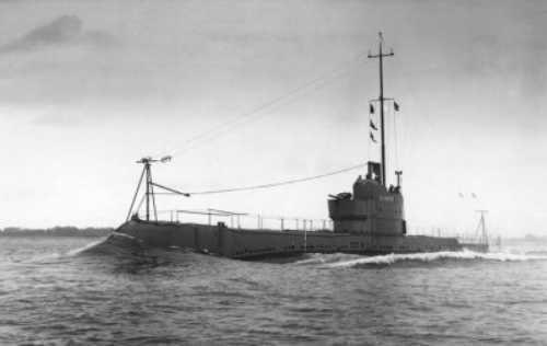 HMS Olympus (N35) HMS Olympus N 35 of the Royal Navy British Submarine of the O