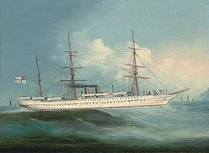 HMS Orontes (1862) httpsuploadwikimediaorgwikipediaenthumb4