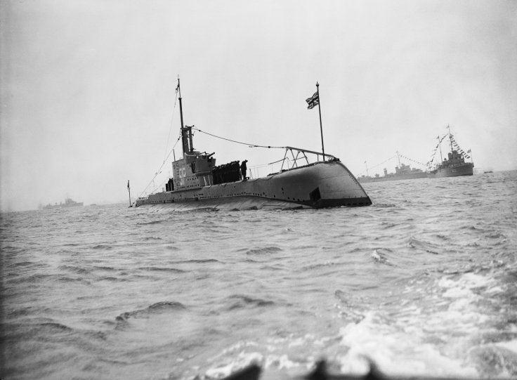 HMS P311 Wreck of HMS P311 found off Sardinia Friends of the Royal Navy