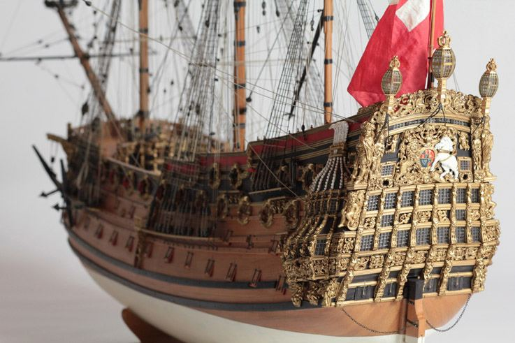 HMS Prince (1670) Mile Bijelic model of HMS Prince 1670 modernknight1 Flickr