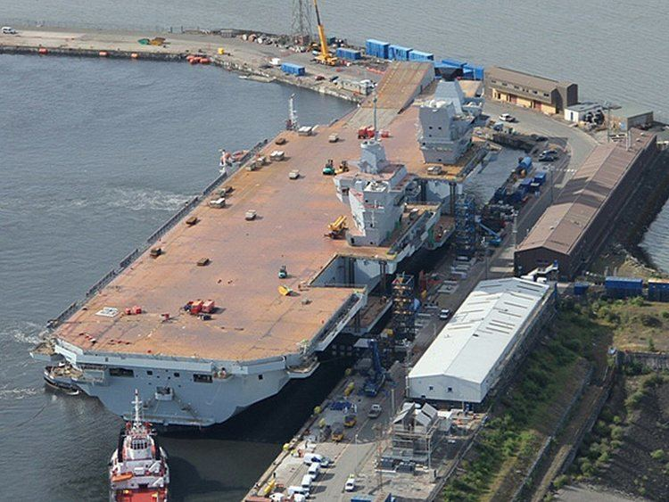 HMS Queen Elizabeth (R08) WorldWideAircraftCarrierscom Queen Elizabeth Class Page
