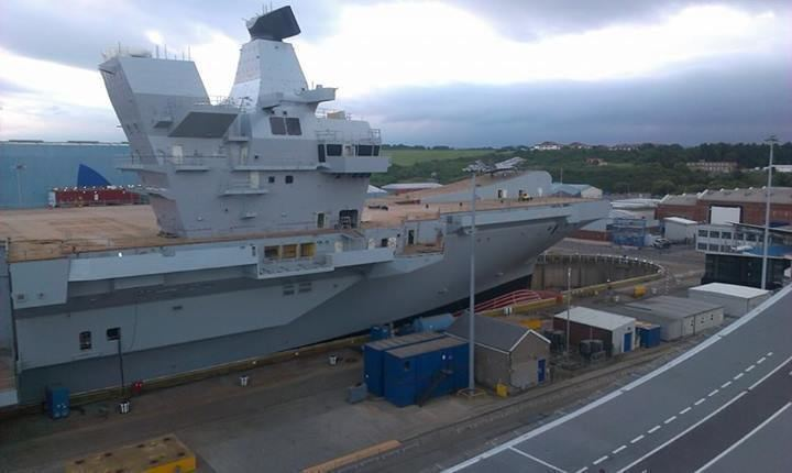 HMS Queen Elizabeth (R08) HMS Queen Elizabeth R08 Aircraft Carrier IMAGES UNSEEN Indian