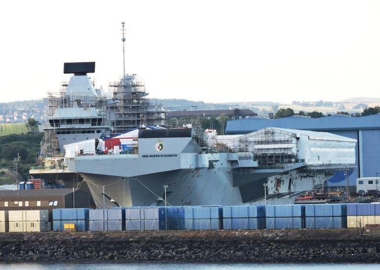HMS Queen Elizabeth (R08) HMS QUEEN ELIZABETH R08 IMO 4907892 ShipSpottingcom Ship