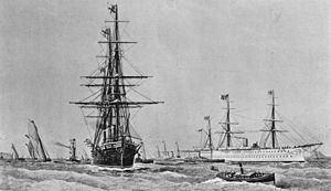 HMS Raleigh (1873) httpsuploadwikimediaorgwikipediacommonsthu