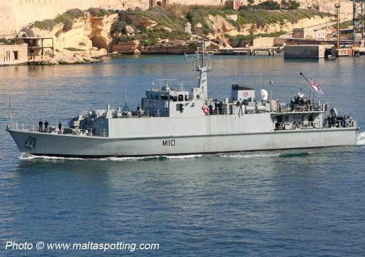 HMS Ramsey (M110) HMS Ramsey M110 ShipSpottingcom Ship Photos and Ship Tracker