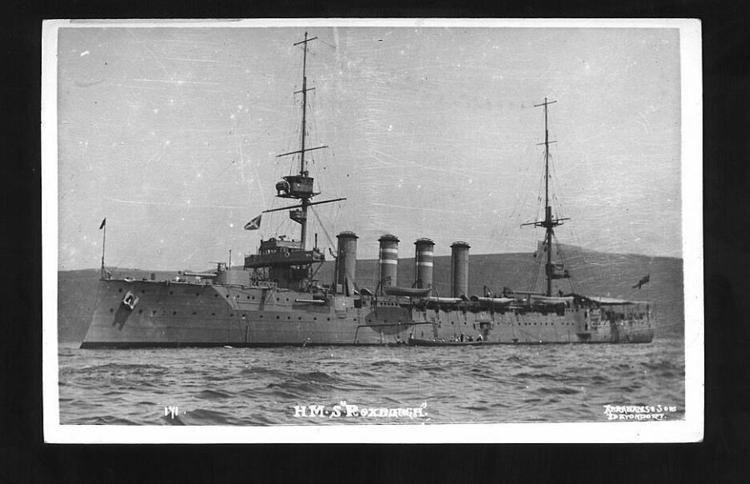 HMS Roxburgh (1904) wwwnavalhistorynetPhotoWW105csRoxburgh1PSJPG