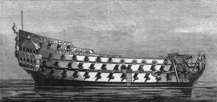 HMS Royal Charles (1655) FileRoyal Charles Harper39s engravingpng Wikimedia Commons