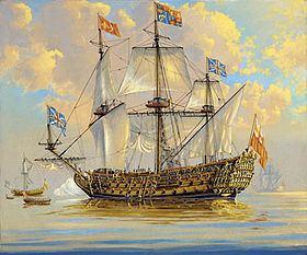 HMS Royal Charles (1655) HMS Royal Charles 1655 Wikipdia