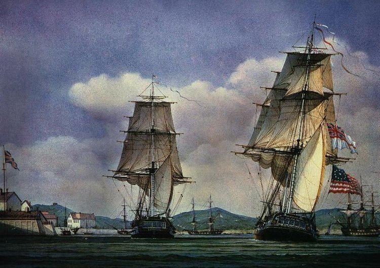 HMS Shannon (1806) Thomas M M Hemy Datapage 23