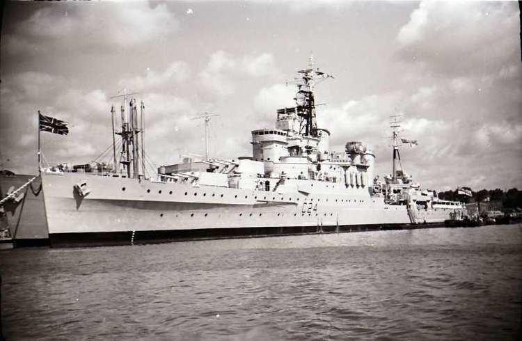 HMS Sheffield (C24) HMS SHEFFIELD C24 ShipSpottingcom Ship Photos and Ship Tracker