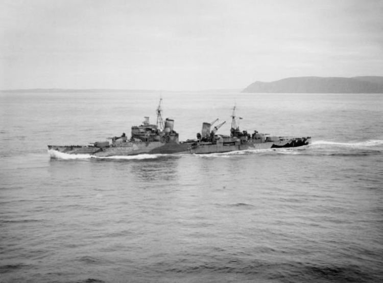 HMS Sheffield (C24) FileHMS Sheffield C24 underway in Scapa Flow 1941jpg Wikimedia