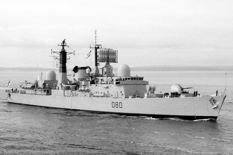 HMS Sheffield (D80) HMS Sheffield D80 ShipSpottingcom Ship Photos and Ship Tracker