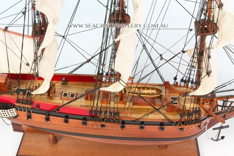 HMS Sirius (1786) Handcrafted wooden model ships boats and yachts