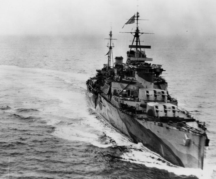 HMS Trinidad (46) 15th May 1942 The sinking of HMS Trinidad