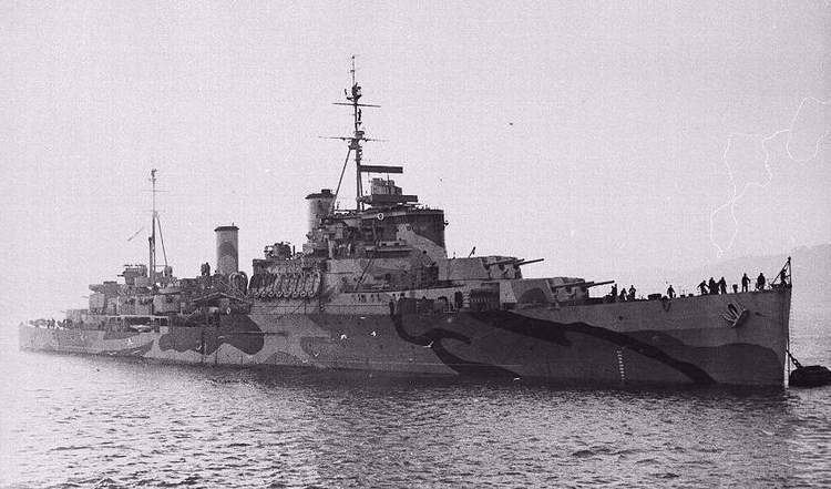 HMS Trinidad (46) Stoker 1st Class George Morgan Tattenhall History