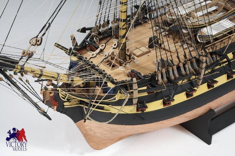 HMS Vanguard (1787) HMS Vanguard Victory Models Amati 130004 SN Models