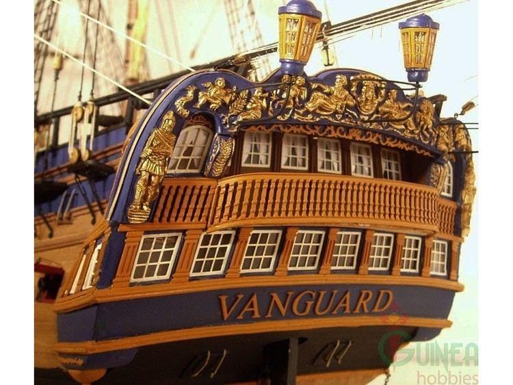 HMS Vanguard (1787) VICTORY MODELS 130004 HMS VANGUARD 1787 74 gun ship 1117 mm