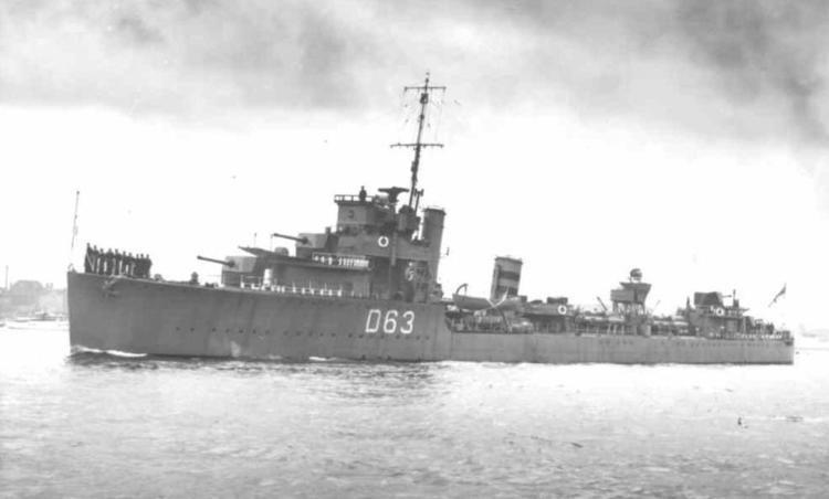 HMS Verity (D63) wwwnavalhistorynetPhoto09ddVerity2NPMarkTeadha