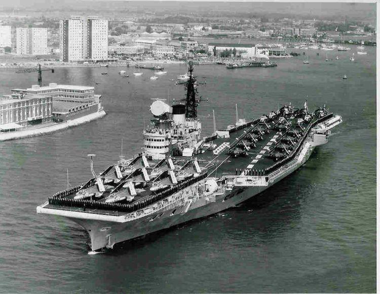 HMS Victorious (R38) HMS Victorious