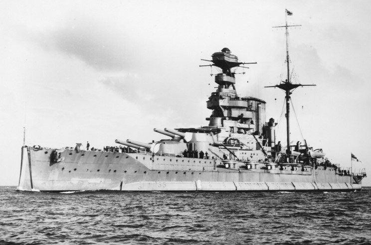 HMS Warspite (03) HMS Warspite 03 Dreadnought Battleship