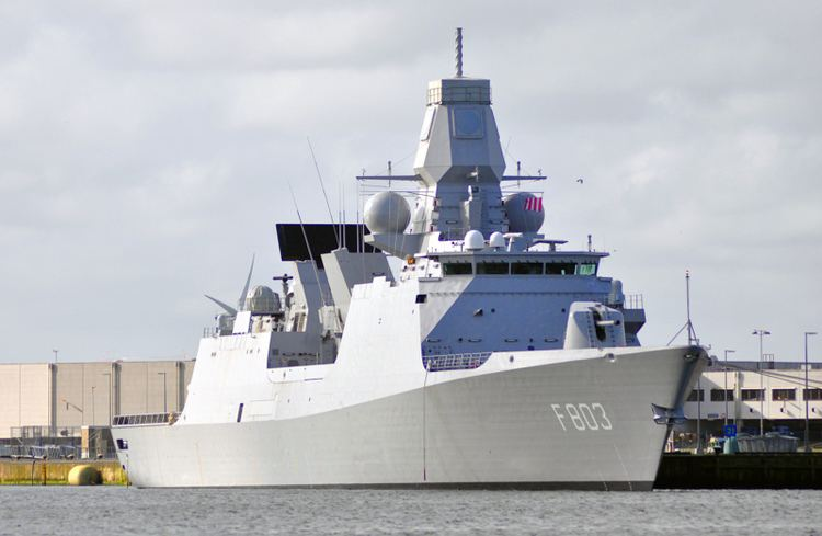 HNLMS Tromp (F803) HNLMS TROMP F803 ShipSpottingcom Ship Photos and Ship Tracker