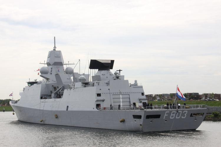 HNLMS Tromp (F803) HNLMS TROMP F803 ShipSpottingcom Ship Photos and Ship Tracker