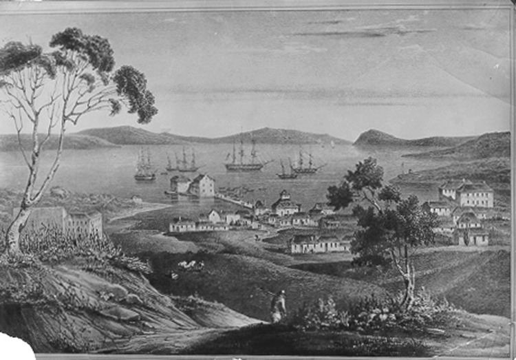 Hobart in the past, History of Hobart