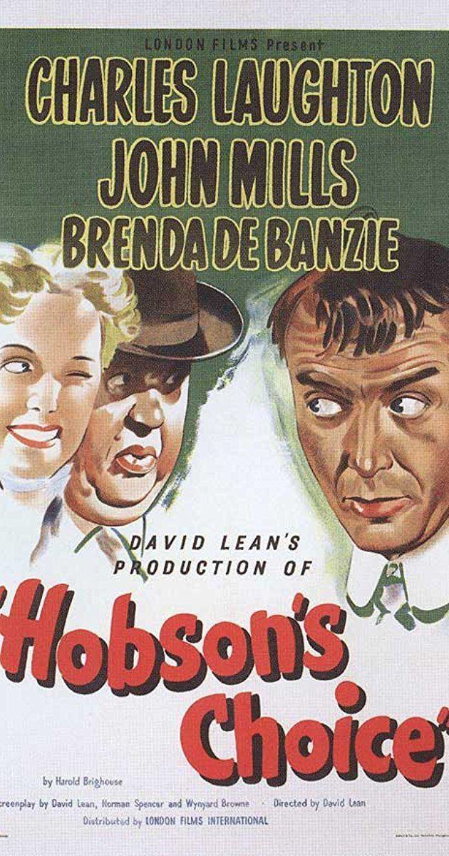 Hobson's Choice (1954 film) Hobsons Choice 1954 IMDb