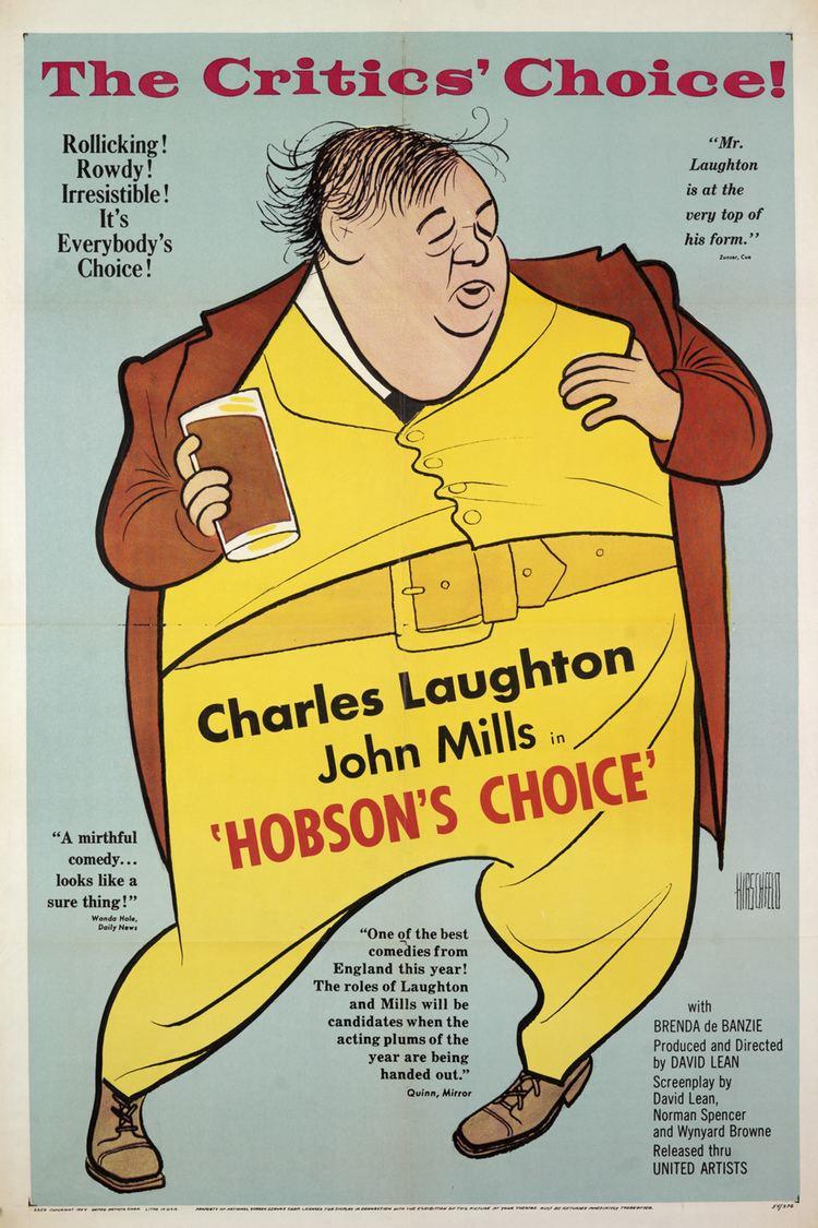 Hobson's Choice (1954 film) wwwgstaticcomtvthumbmovieposters40918p40918