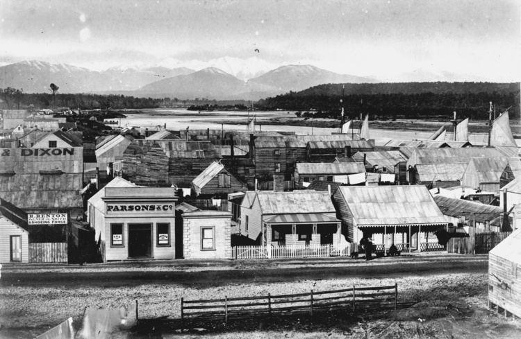 Hokitika in the past, History of Hokitika