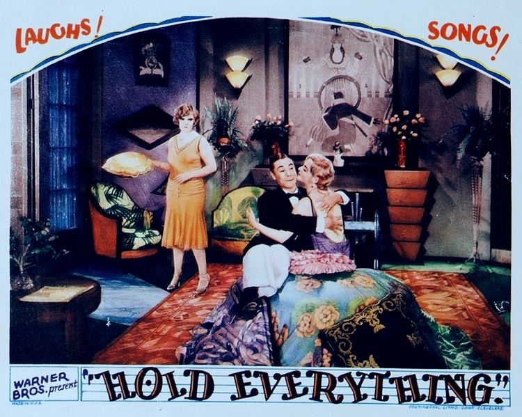 Hold Everything (1930 film) Vitaphone Soundtracks Hold Everything 1930 Complete Soundtrack
