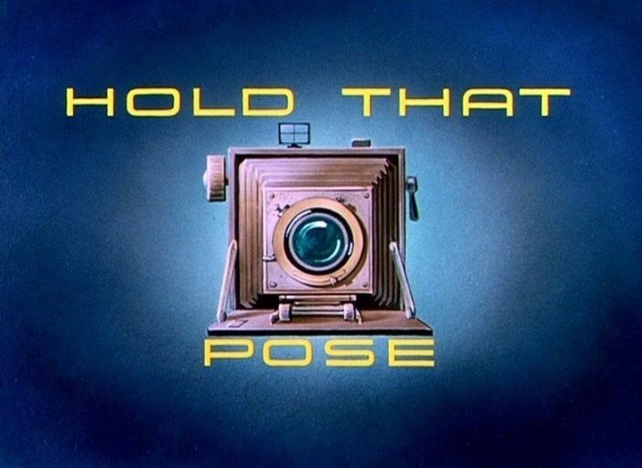 Hold That Pose Hold That Pose 1950 The Internet Animation Database