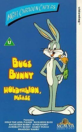 Hold the Lion, Please Bugs Bunny Hold The Lion Please VHS Childrens Amazoncouk Video