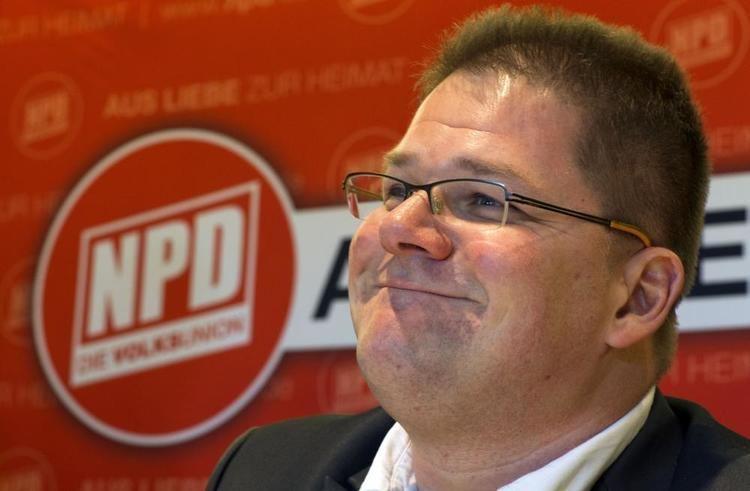 Holger Apfel Fhrungskrise bei den Rechtsextremisten NPDParteichef