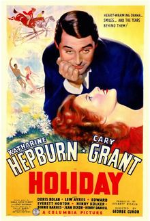 Holiday (1938 film) movie poster