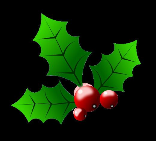 Holly Free Christmas Clip Art Holly Clipart Panda Free Clipart Images