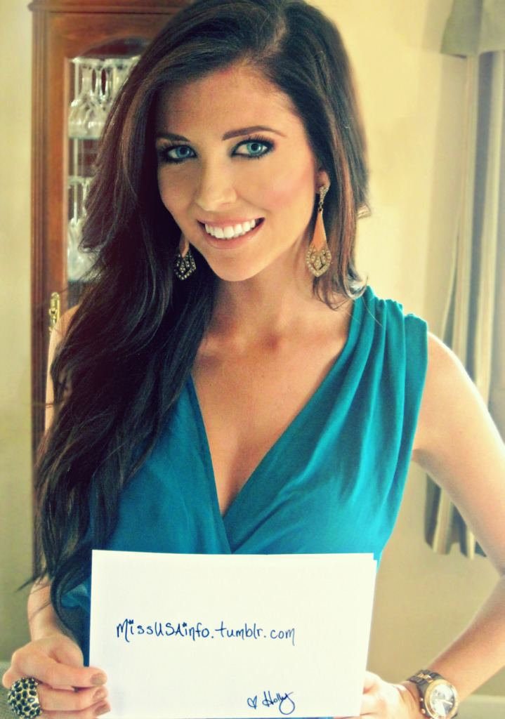 Holly Allen Miss USA Info Interview With Miss Wyoming USA Holly