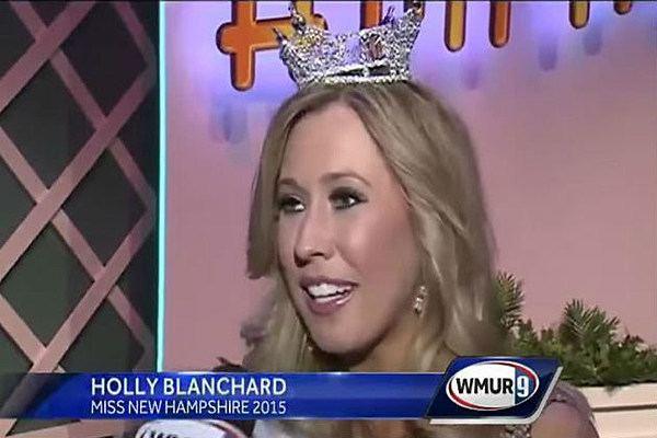 Holly Blanchard Miss New Hampshire 2015 Crowned Congrats Holly Blanchard