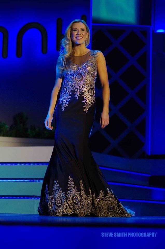Holly Blanchard Miss New Hampshire 2015 Evening Gown