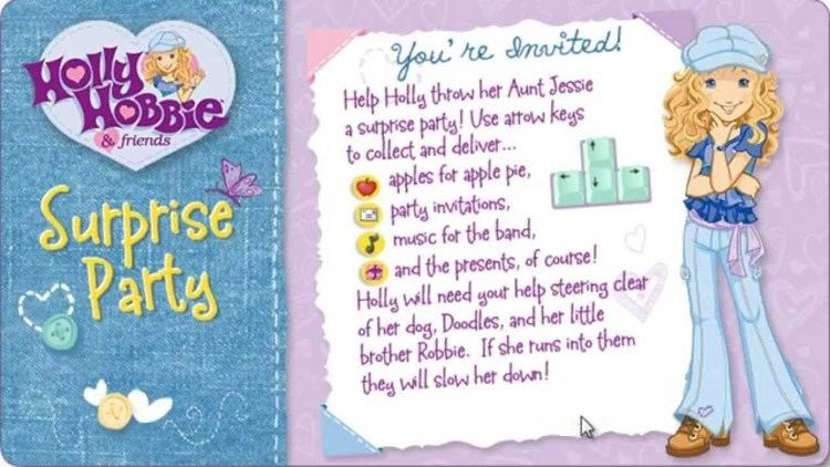 Holly Hobbie and Friends: Surprise Party Holly Hobbie Surprise Party YouTube