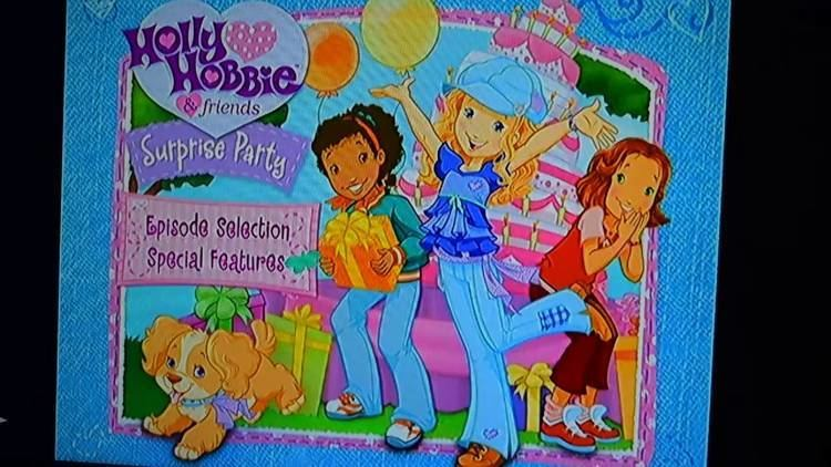 Holly Hobbie and Friends: Surprise Party HOLLY HOBBIE SURPRISE PARTY DVD MENU WALKTHROUGH MOVIE OPENING KIDS