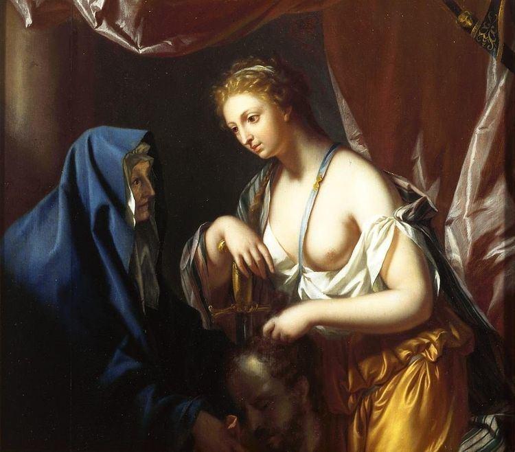 Holofernes 1726 Van Dijk Judith with the Head of Holofernes Judith Yehudit