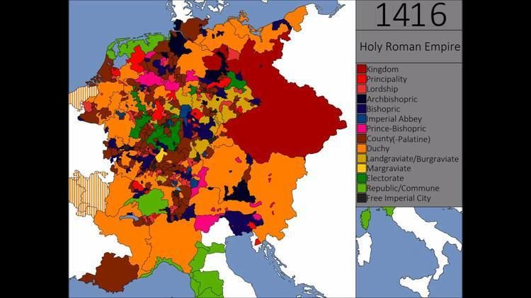Holy Roman Empire The Holy Roman Empire Every State Every Year YouTube