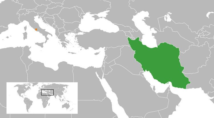 Holy See–Iran relations