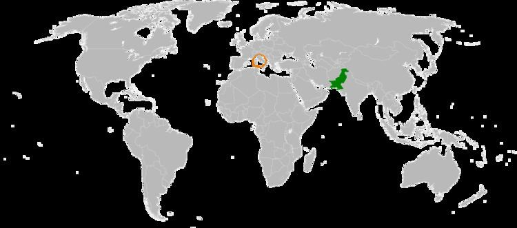 Holy See–Pakistan relations