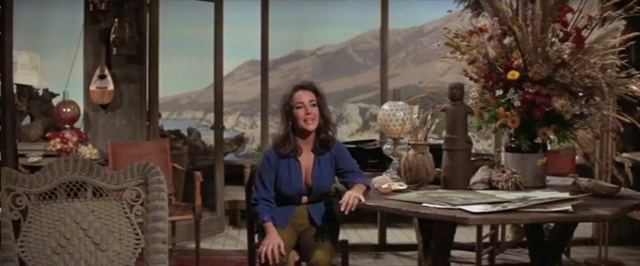 Home from the Hill (film) movie scenes Top George Hamilton and Robert Mitchum in Home from the Hill 1960 Bottom Elizabeth Taylor in The Sandpiper 1965