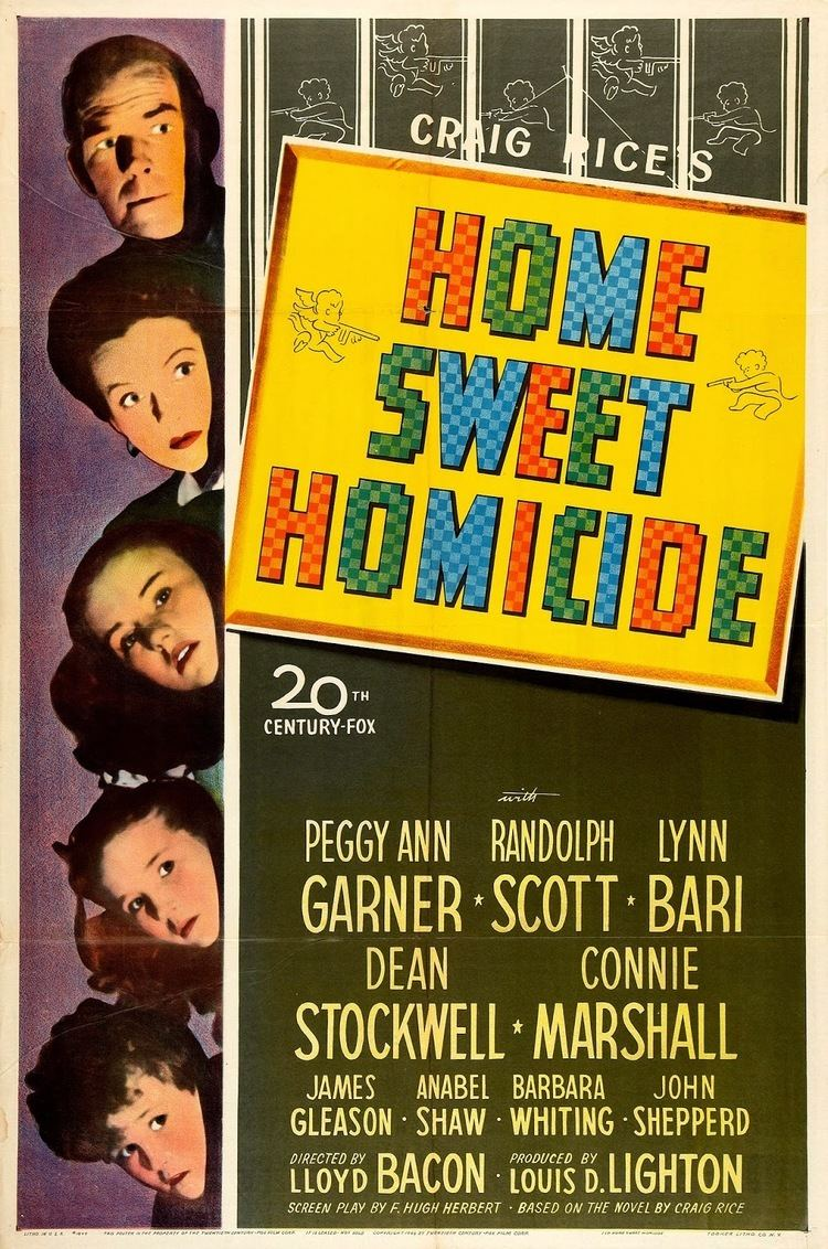 Home Sweet Homicide Lauras Miscellaneous Musings Tonights Movie Home Sweet Homicide