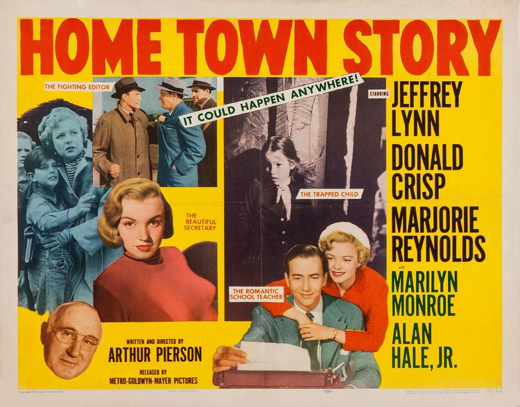 Home Town Story Home Town Story 1951 The Visuals The Telltale Mind