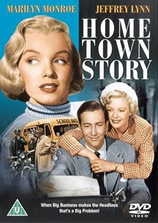 Home Town Story Hometown Story DVD 1951 Amazoncouk Marilyn Monroe Jeffrey